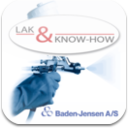 Lak & Know-How - mobile app for ordering Baden-Jensen automotive paints and lacques