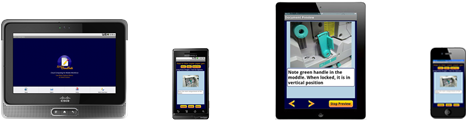mobile application for technical support, knowledge management, training